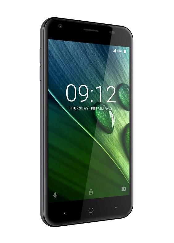 """ACER LIQUID Z6 LTE, 5"""" IPS 1280x720, 1,3GHz Quad-Core, ROM 8GB, RAM 1GB, kamera 8Mpx/2Mpx, šedý, Android 6.0"""