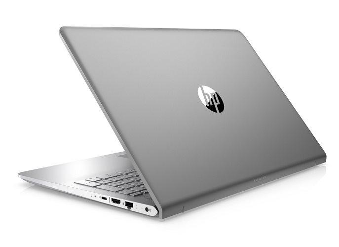 """HP Pavilion 15-cc508nc/Intel i5-7200U/8GB/256GB SSD M.2 + 1TB/GF 940MX 4GB/15,6"""" FHD/Win 10/stříbrná"""