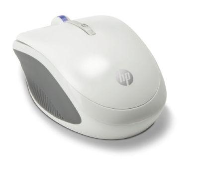 HP myš X3300 bezdrátová bílá