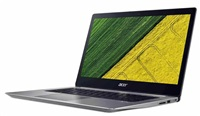 """Acer Swift 3 (SF314-52-7940) i7-7500U/8GB+N/A/512GB Intel PCIe SSD+N (M.2)/HD Graphics/14"""" FHD IPS/BT/W10 Home/Silver"""
