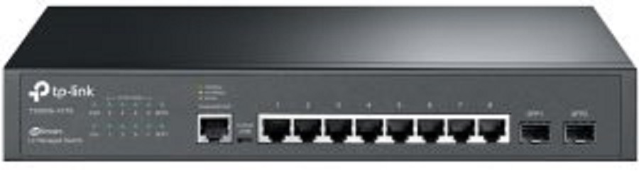 TP-Link T2500G-10TS(TL-SG3210) JetStream™ 8x 10/100/1000