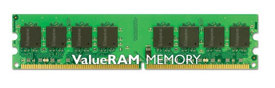 1GB DDR2-800MHz Kingston CL6