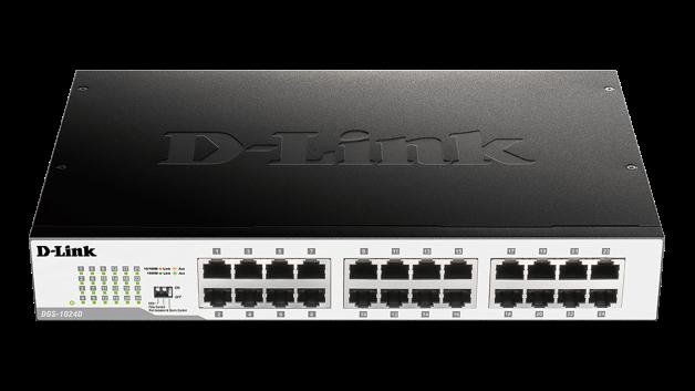 D-Link DGS-1024D 24x10/100/1000 Desktop Switch