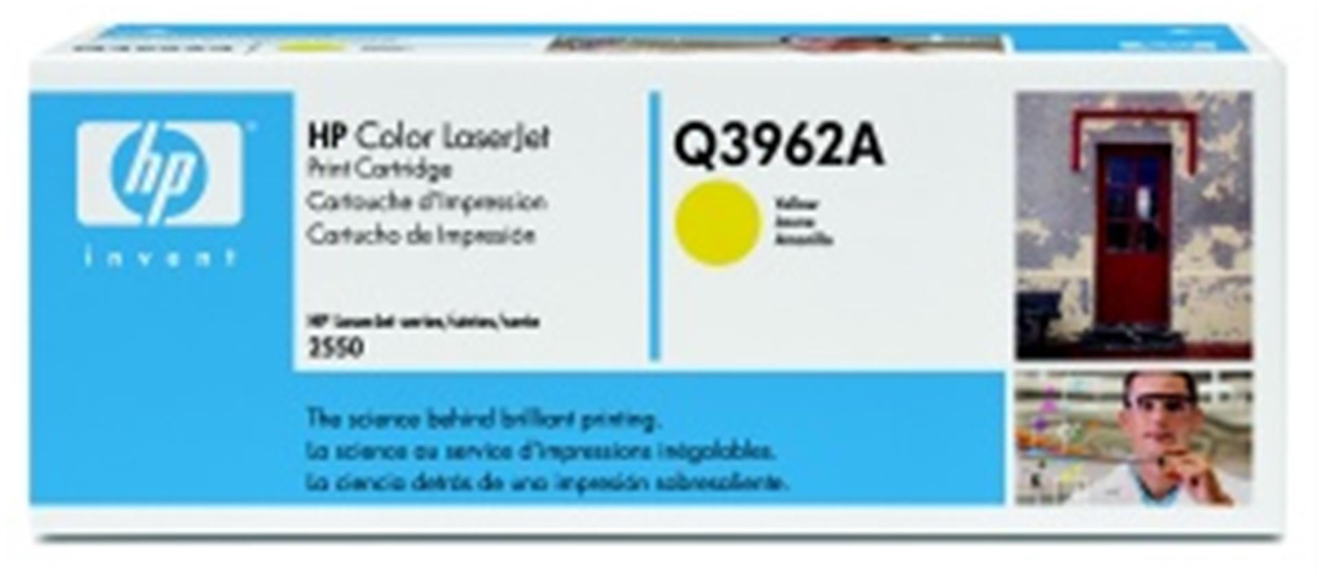 HP Q3962A Toner 122A pro CLJ 2550 (4000str), Yellow