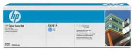 HP Color LaserJet CB381A Cyan Print Cartridge with ColorSphere Toner