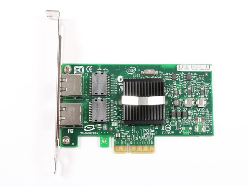 Intel® PRO/1000 PT Dual Port Server Adapter, (MOQ 5pcs)