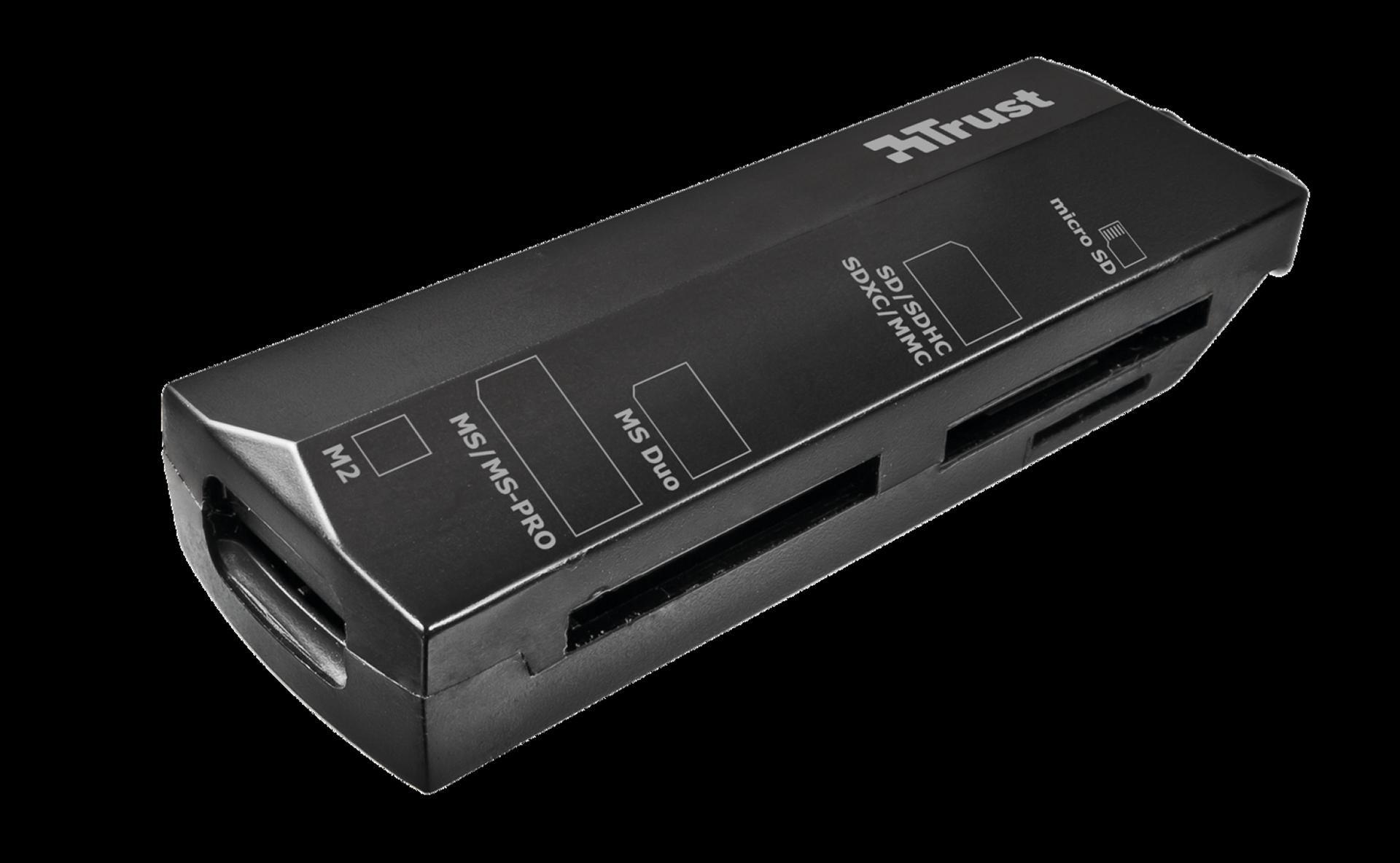 TRUST Čtečka paměťových karet Stello Mini, USB