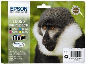 EPSON cartridge T0895 (black/cyan/magenta/yellow) multipack (opice)