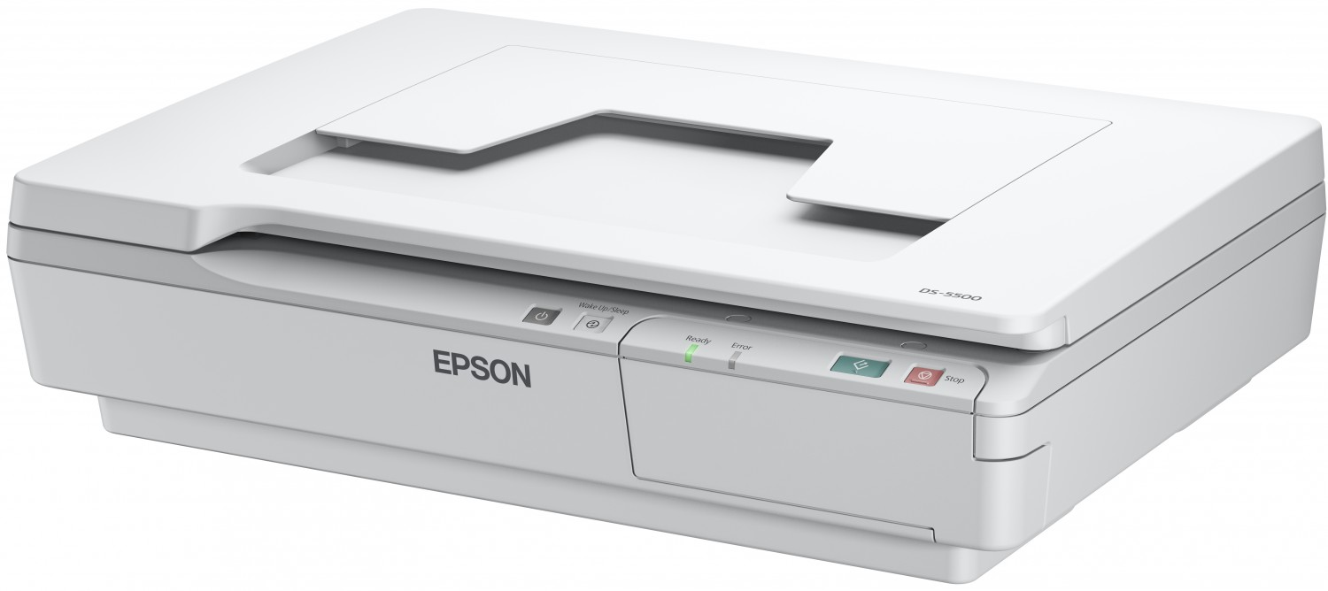 EPSON skener WorkForce DS-5500 - A4/1200x1200dpi/optionNet