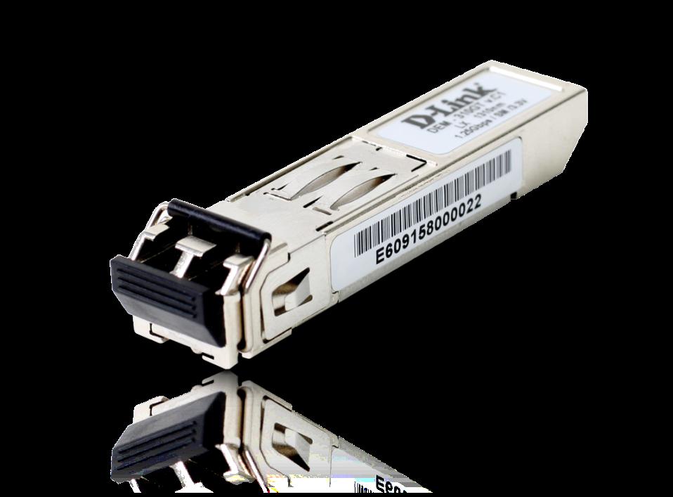 D-Link 1-port Mini-GBIC SFP to 1000BaseLX, 10km