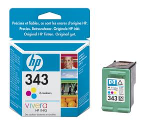 HP C8766E Ink Cart No.343 pro DJ 5740,6540, 7ml, Color