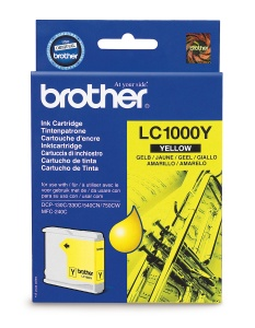 LC-1000Y (yellow, 400 str.@ 5% draft) pro DCP-330C,DCP-540CN