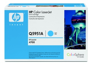 HP Q5951A Toner 643A pro CLJ 4700, (10 000str), Cyan
