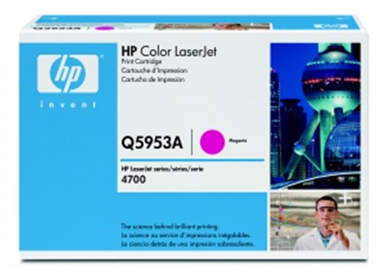 HP Q5953A Toner 643A pro CLJ 4700, (10 000str), Magenta