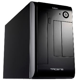 PC skříň Tacens ITX IXION, zdroj 300W, černá