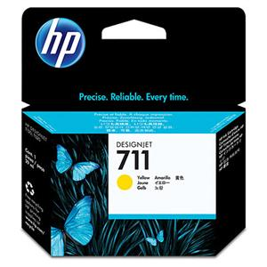 HP CZ132A No. 711 Yellow Ink Cart pro DSJ T120, 29 ml