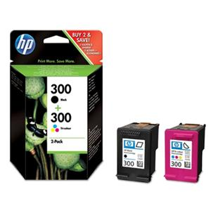 HP CN637EE Ink Cart No.300 pro DJ F4280, D2560, D2660, CMYK, (CC640EE+CC643EE)
