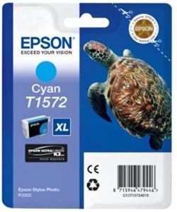 Inkoust Epson T1572 Cyan| 25,9 ml | R3000