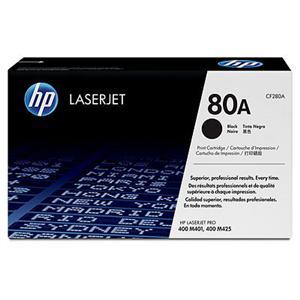 HP CF280A Toner 80A pro LJ M401, M425MFP, (2700str.) Black