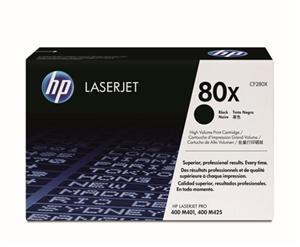 HP CF280XD Toner 80X pro LJ M401, M425MFP, (2x6900str), Black