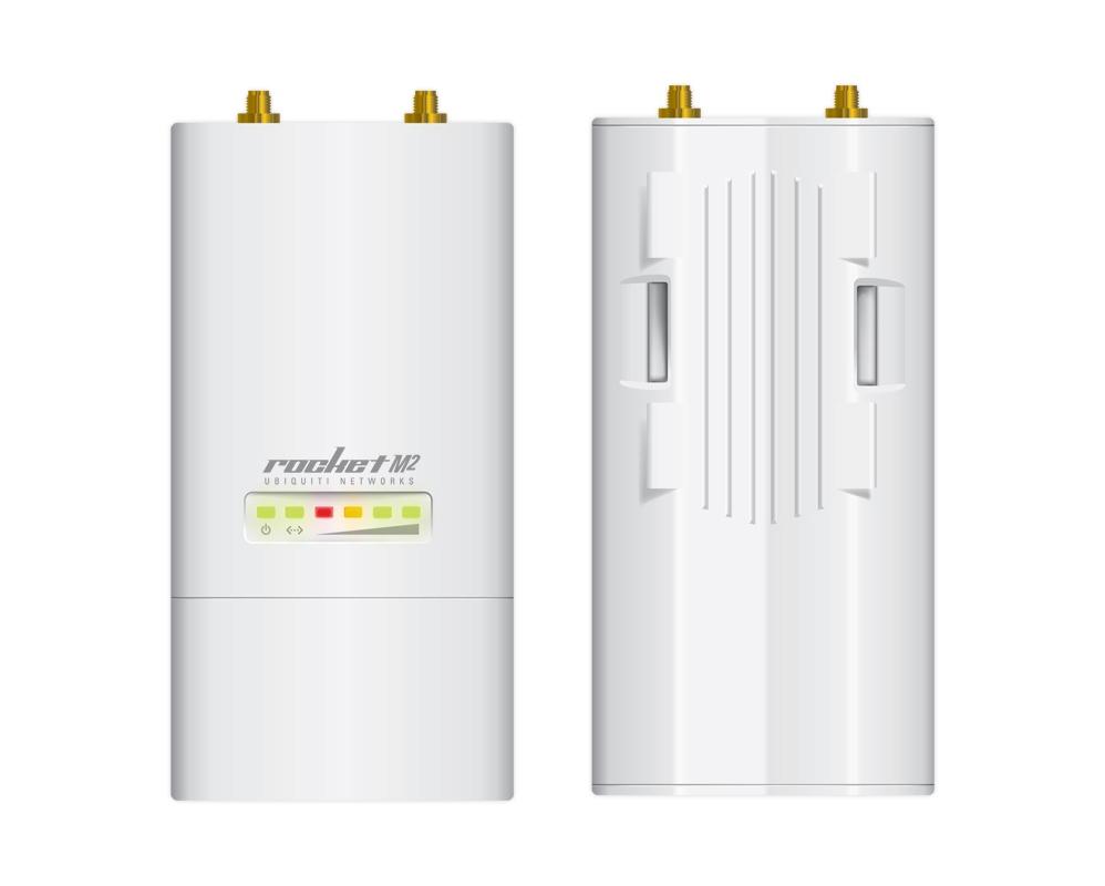 UBNT airMAX Rocket M2 [Client/AP/Repeater, 2,4 GHz, 802.11b/g/n, 28dBm, 2xRSMA]
