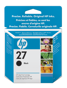 HP C8727AE Ink Cart No.27 pro DJ 3325, 3420, 3550, 3650, 10ml, Black
