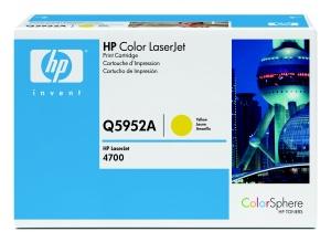 HP Toner Cart Yellow pro HP CLJ 4700