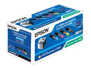 EPSON Toner čer+bar AcuLaser C1100/CX11 - CMYK