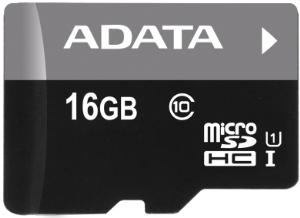 ADATA 16GB MicroSDHC Premier UHS-I Class 10