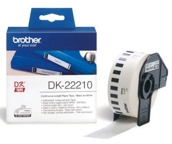 Brother - DK-22210 (papírová role 29mm x 30,48m)