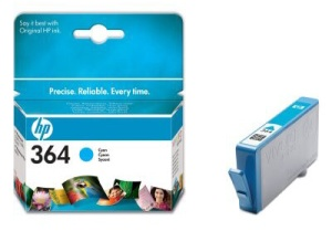 HP 364 Cyan Inkjet Print Cartridge for D5460