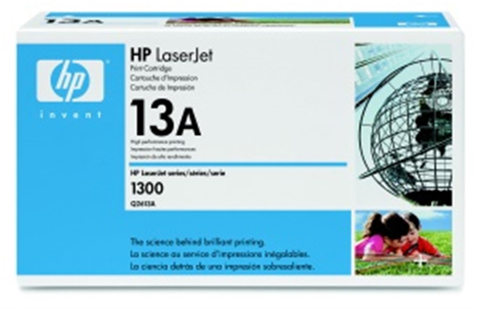 HP Q2613A Toner 13A pro LJ 1300, (2500str), Black