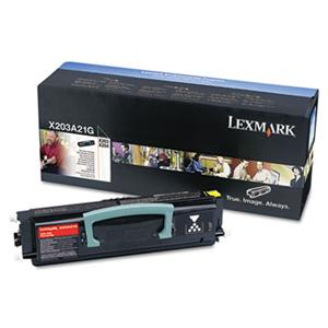 Toner Lexmark black | return | 2500str | X203/X204