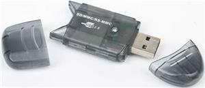 GEMBIRD Čtečka karet mini ALL IN 1, FD2-SD-1