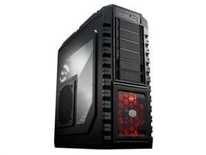CoolerMaster case HAF X 942, ATX,bez zdroje, průhl. bočnice, black
