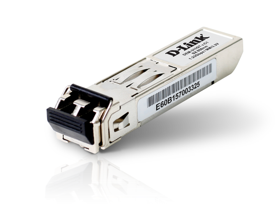 D-Link 1-port Mini-GBIC SFP to 1000BaseSX, 550m