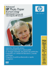 HP Advanced Photo Paper, lesk, A4, 50 listů,250g/m