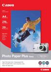 Canon fotopapír PP-201 - 13x18cm (5x7inch) - 275g/m2 - 20 listů - lesklý