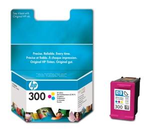 HP CC643EE Ink Cart No.300 pro DJ F4280, D2560, D2660, 4ml, Color