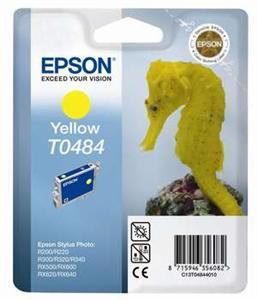 Inkoust Epson T0484 yellow | Stylus Photo R200/220/300/320/340,RX500/600/640