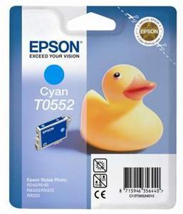 EPSON cartridge T0552 cyan (kačenka)