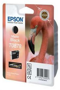 EPSON SP R1900 Matte black Ink Cartridge (T0878)