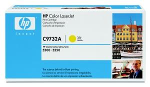 HP Color LaserJet žlutý toner, C9732A