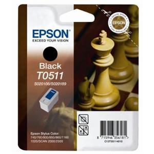 EPSON Ink ctrg černá SC740/760/8*0/1160/1520... T0511