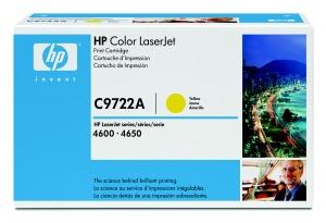 HP 641A Yellow LJ Toner Cart, 8 000 str, C9722A