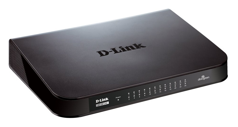 D-Link GO-SW-24G 24-Port GIGABIT DESKTOP SWITCH