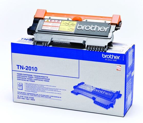 Brother - TN-2010 (HL-2130/2135W,DCP-7055/7055W/7057, 1 000 str., 5%, A4)