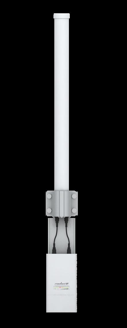 UBNT airMAX Omni Antenna AMO-5G13 [všesměrová MIMO anténa, 5GHz, 13dBi, Rocket kit]