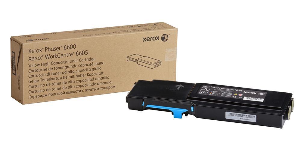 Xerox Toner Cyan pro Phaser 6600/WC 6605 (6.000 str.)