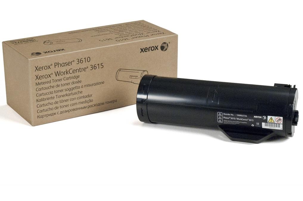 Toner Xerox black   5900pgs   Phaser 3610/3615